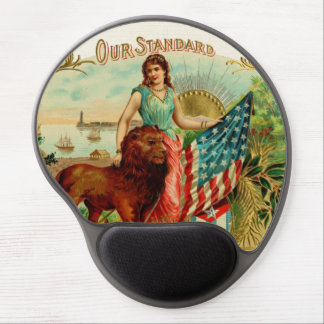 Vintage Our Standard Label Gel Mouse Pad