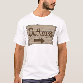 vintage outhouse right T-Shirt