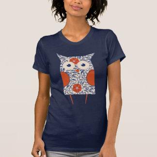 Vintage Owl Art T-Shirt