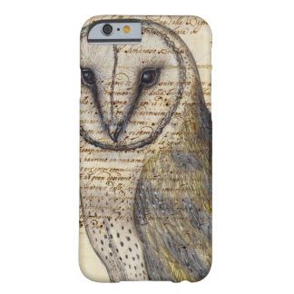 Vintage Owl Barely There iPhone 6 Case