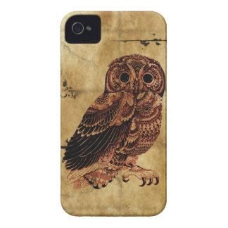 Vintage Owl Case-Mate iPhone 4 Case