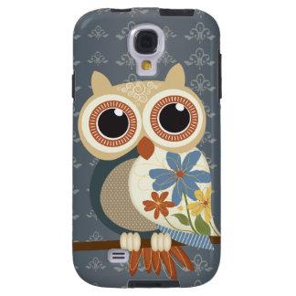 Vintage Owl Galaxy S4 Case