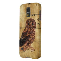 Vintage Owl Case For Galaxy S5