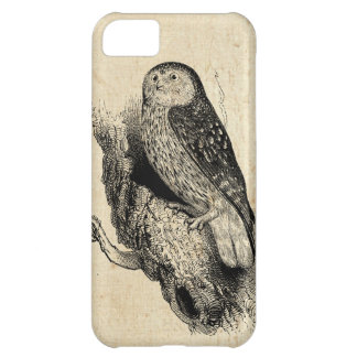Vintage Owl Case For iPhone 5C