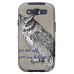 Vintage Owl Case-Mate Case Samsung Galaxy S3 Cover
