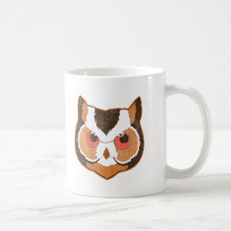 Vintage Owl Classic White Coffee Mug