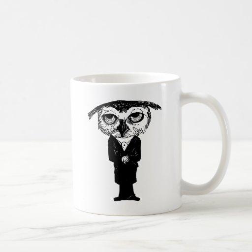 Vintage Owl Coffee Mugs