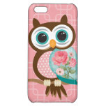 Vintage Owl Cover For iPhone 5C