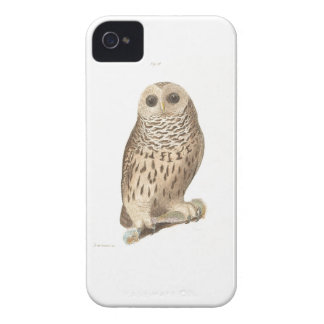 Vintage owl cute antique bird woodland animal hip iPhone 4 Case-Mate cases