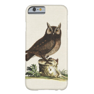 Vintage Owl Drawing Barely There iPhone 6 Case