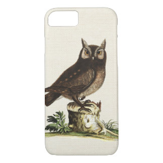 Vintage Owl Drawing iPhone 7 Case