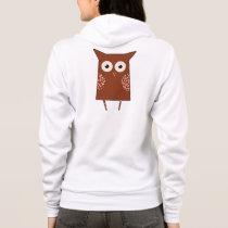 Vintage Owl Hoodie