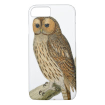 Vintage Owl Illustration iPhone 7 Case