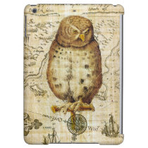 Vintage owl iPad air case