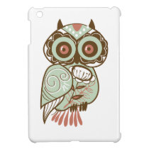 Vintage Owl iPad Mini Covers