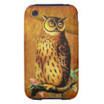 Vintage Owl iPhone 3 Tough Covers