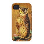 Vintage Owl iPhone 4 Cover