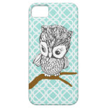 Vintage Owl Iphone 5 Case at Zazzle