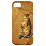 Vintage Owl iPhone 5 Covers