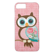 Vintage Owl iPhone 8/7 Case