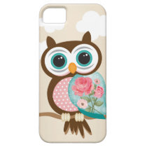 Vintage Owl iPhone SE/5/5s Case
