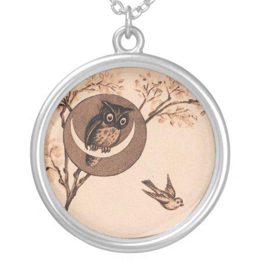 Vintage owl custom jewelry