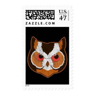 Vintage Owl Postage