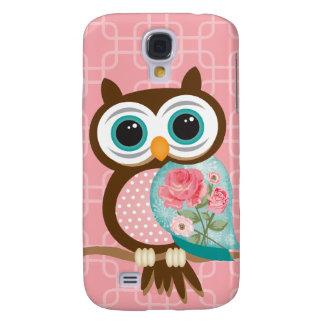 Vintage Owl Samsung S4 Case