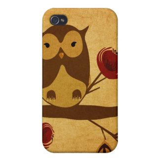 Vintage owl Speck Case
