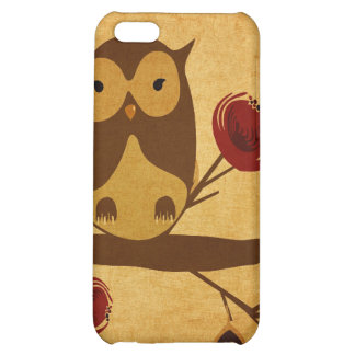 Vintage owl Speck Case iPhone 5C Case