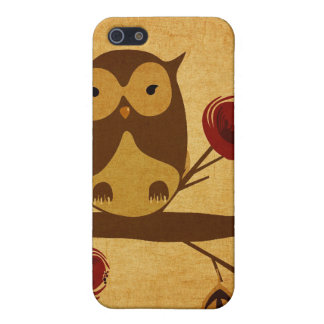 Vintage owl Speck Case Cover For iPhone 5