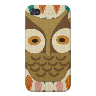 Vintage owl Speck Case iPhone 4 Case