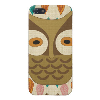 Vintage owl Speck Case iPhone 5 Covers