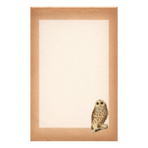 Vintage Owl Stationary Stationery