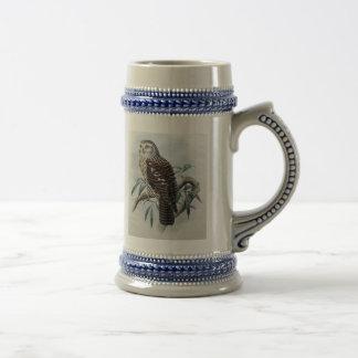 Vintage Owl Stein