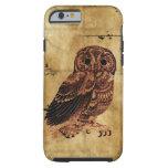 Vintage Owl Tough iPhone 6 Case