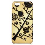 Vintage Owl Tree iPhone 5C Cases