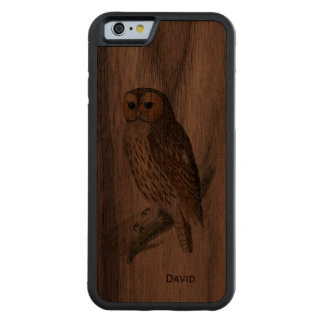 Vintage Owl Wooden iPhone 6 Case