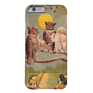 Vintage Owls Barely There iPhone 6 Case