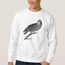Vintage Owls Illustration Retro Antique Night Owl Sweatshirt