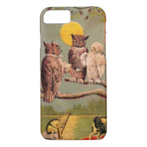 Vintage Owls iPhone 8/7 Case