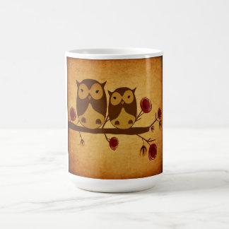 Vintage owls Mug