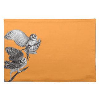 Vintage Owls Placemat