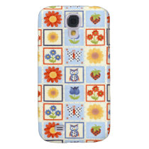 Vintage Owls Samsung Galaxy S4 Cover