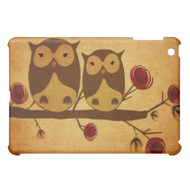 Vintage owls Speck Case iPad Mini Case