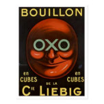 Vintage OXO Buillion Ad - Cie Liebig Postcard