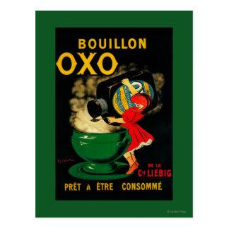Vintage OXO PoseterEurope del caldo Postal