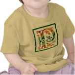 Vintage P inicial - monograma P Camiseta