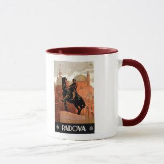 Vintage Padua Padova Italian travel Mug