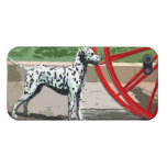 vintage painted dalmatian cover for iPhone 5